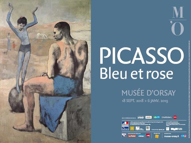 affiche expo Picasso